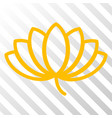 lotus eps icon vector image