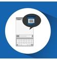 mobile device health care test examen vector image