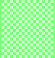 seamless cloth fabric pattern green gingham vector image