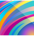 background abstract aura design vector image