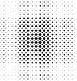 Black and white dot pattern design background vector image vector image