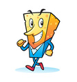 Cheese Mascot Characters vector image vector image