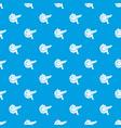 pancreas pattern seamless blue vector image
