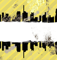 urban grunge design vector image vector image