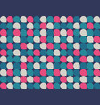 abstract colorful geometric pattern minimal vector image vector image