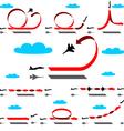 aerobatics vector image vector image