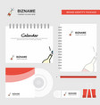 celebrations drink logo calendar template cd vector image vector image