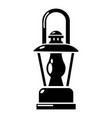 gas lamp icon simple style vector image vector image