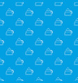 honey tea pattern seamless blue vector image