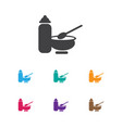 of infant symbol on child food vector image
