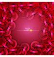 rivets and ribbons vector image vector image