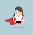 super businesswoman vector image