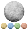 textured dot backgrounds set vector image vector image