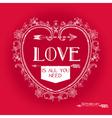 Vintage Valentines Day Card Design