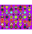 The abstract geometric background of colored squar vector image