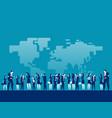 activities diverse people around world vector image
