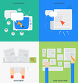 element advertisement concept icon in flat vector image
