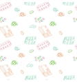 Seamless pattern for background medical vector image