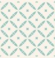 vintage seamless pattern geometric ornament vector image