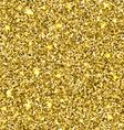 Gold glitter seamless texture vector image