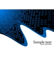 vector background with square vector image vector image