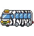 zoo bus vector image vector image