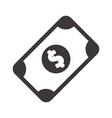 bill cash money to buy vector image vector image
