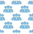 Leader seamless pattern vector image vector image