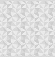 low poly gray seamless background vector image vector image