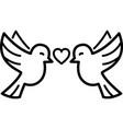 pigeon logo icon vector image