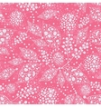Pink abstract leaves seamless pattern background vector image vector image