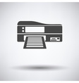 Printer icon vector image vector image