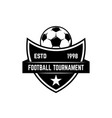 Soccer football emblems design element for logo