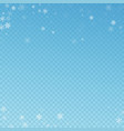 sparse snowfall christmas background subtle flyin vector image
