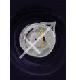 zodiac sagittarius sign a4 print poster with vector image vector image