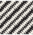 Seamless Black and White Hand Drawn ZigZag vector image