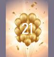 21st year anniversary background