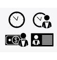 bank desing vector image