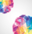 colorful diamond vector image vector image