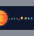 set star and planets on galaxy background