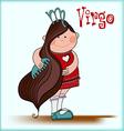 Virgo vector image vector image