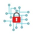 Cyber icon vector image