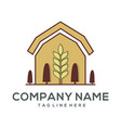 agriculture logo icon and vector image vector image