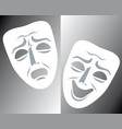 Mask theater vector image