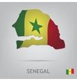senegal vector image