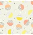 Trendy geometric elements memphis cards vector image vector image