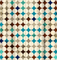vintage mosaic seamless texture vector image vector image