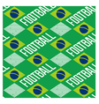 Brazilian seamless pattern vector image