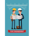 Civil Engineering Character Icon