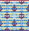 grunge seamless pattern with anchor imprints vector image vector image